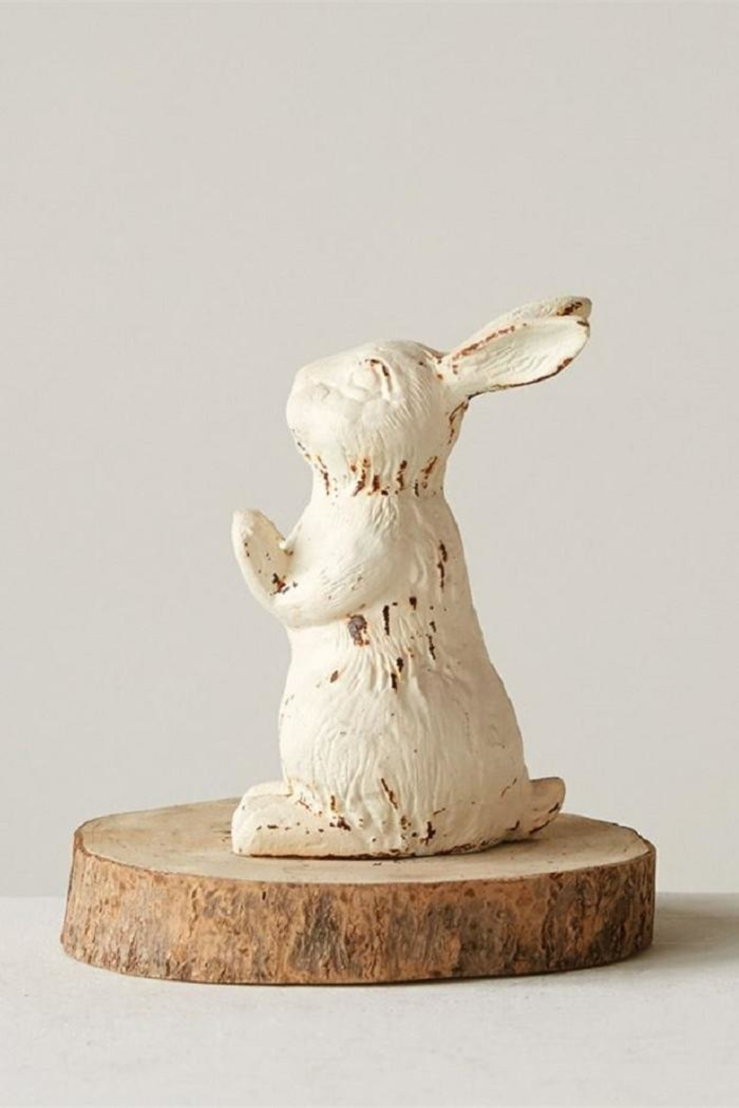 Creative Co-Op Cast Iron Rabbit - Front Full Image