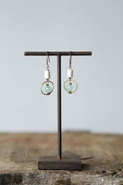 Creative Co-Op Copper/agate Benevolence Earring - Product Mini Image