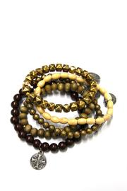 Creative Co-Op Divinity Bracelet Set - Front cropped