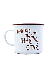 Creative Co-Op Enamel Twinkle Mug - Product Mini Image