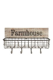 Creative Co-Op Farmhouse Wire Basket - Product Mini Image