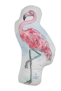 Shoptiques Product: Flamingo Throw Pillow
