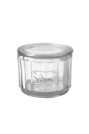 Creative Co-Op Glass Salt Cellar - Product Mini Image