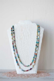 Creative Co-Op Kantha Bead Necklace - Product Mini Image