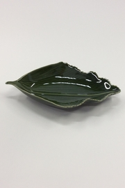 Creative Co-Op Leaf Shape Bowl - Product Mini Image