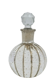 Creative Co-Op Mercury Antique Glass Bottle - Front cropped