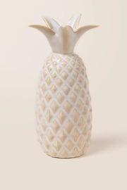 Creative Co-Op Pineapple Wall Vase - Front full body