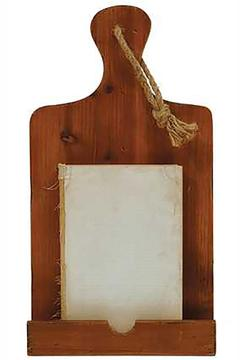 Shoptiques Product: Rustic Cookbook Stand