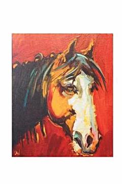 Shoptiques Product: Rustic Horse Canvas