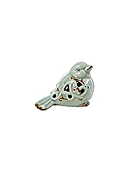 Creative Co-Op Small Ceramic Taupe Bird - Product Mini Image