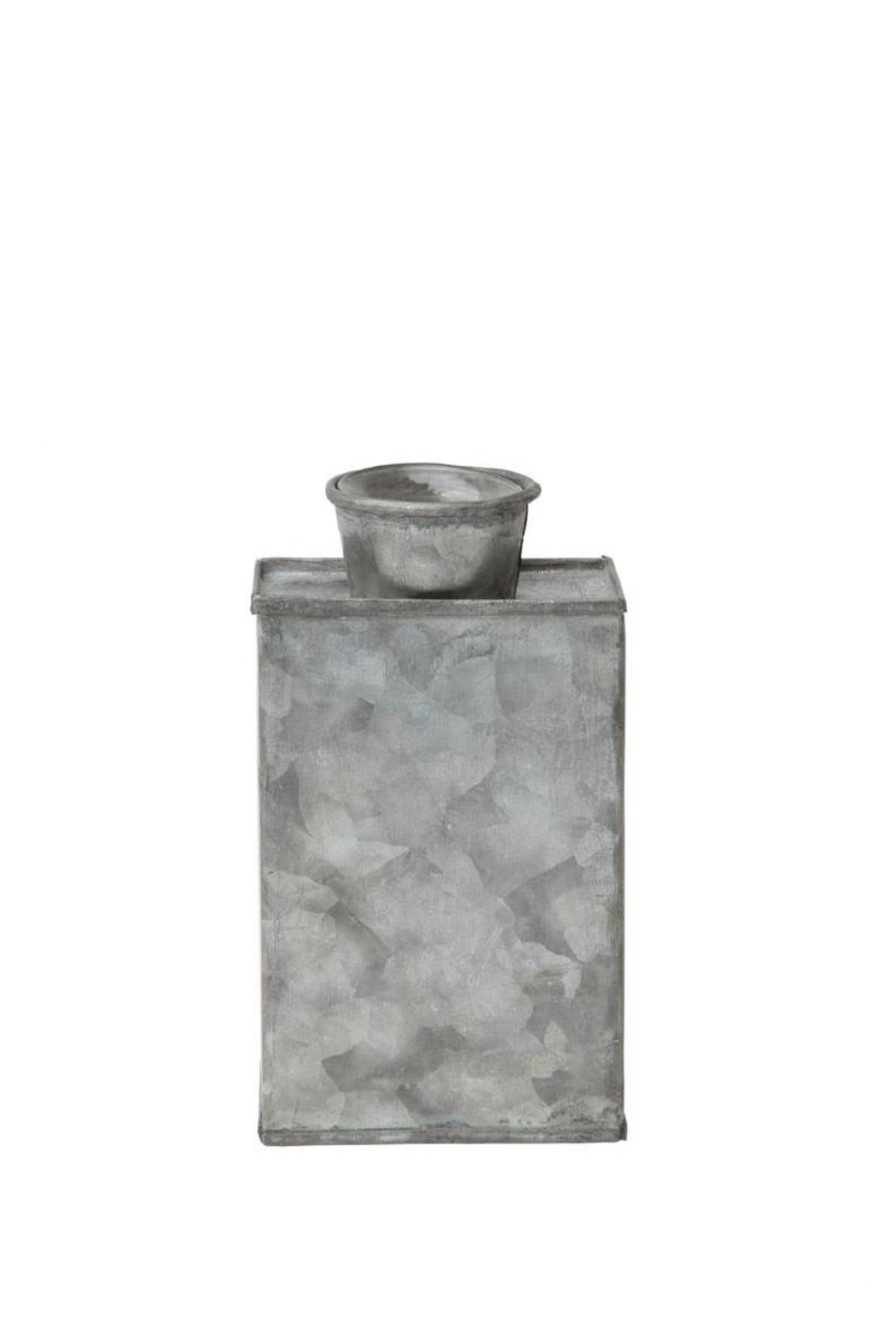 Creative Co-Op Small Metal Vase - Main Image