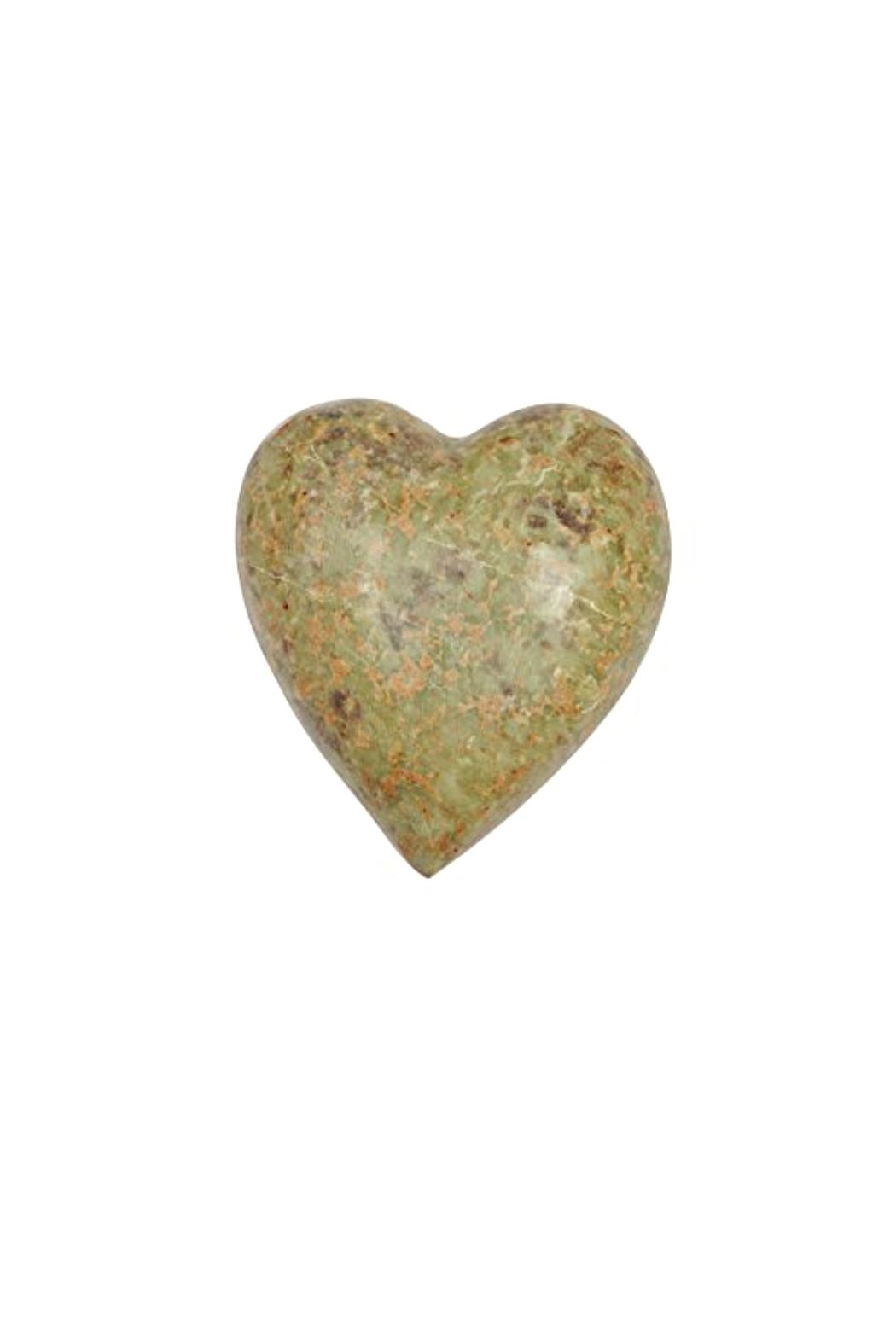 Creative Co-Op Soapstone Decorative Heart - Front Cropped Image
