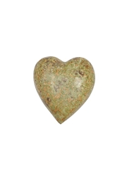 Creative Co-Op Soapstone Decorative Heart - Front cropped