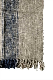 Creative Co-Op Striped Throw - Front cropped