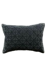 Creative Co-Op Velvet Quilted Pillow - Product Mini Image