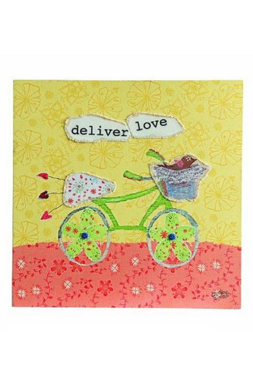 Creative Co-Op Deliver Love Art from Dallas by Kasseigh\'s — Shoptiques
