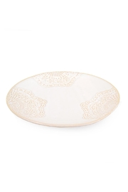 Creative Co-Op White Ceramic Plate - Product Mini Image
