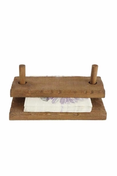 Shoptiques Product: Wood Napkin Holder