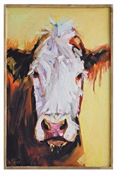 Shoptiques Product: Yellow Cow Canvas