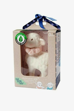 Creative Education of Canada Lila-The-Lamb Rubber Toy - Alternate List Image
