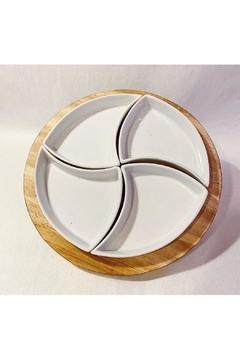 Creative Gifts 5 Piece Round Server Set - Product List Image