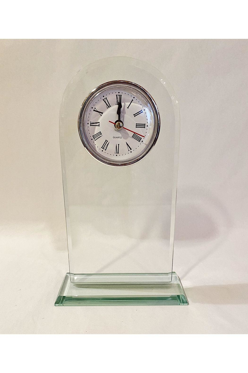 Creative Gifts Glass Arched Clock - Main Image