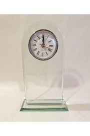 Creative Gifts Glass Arched Clock - Front cropped