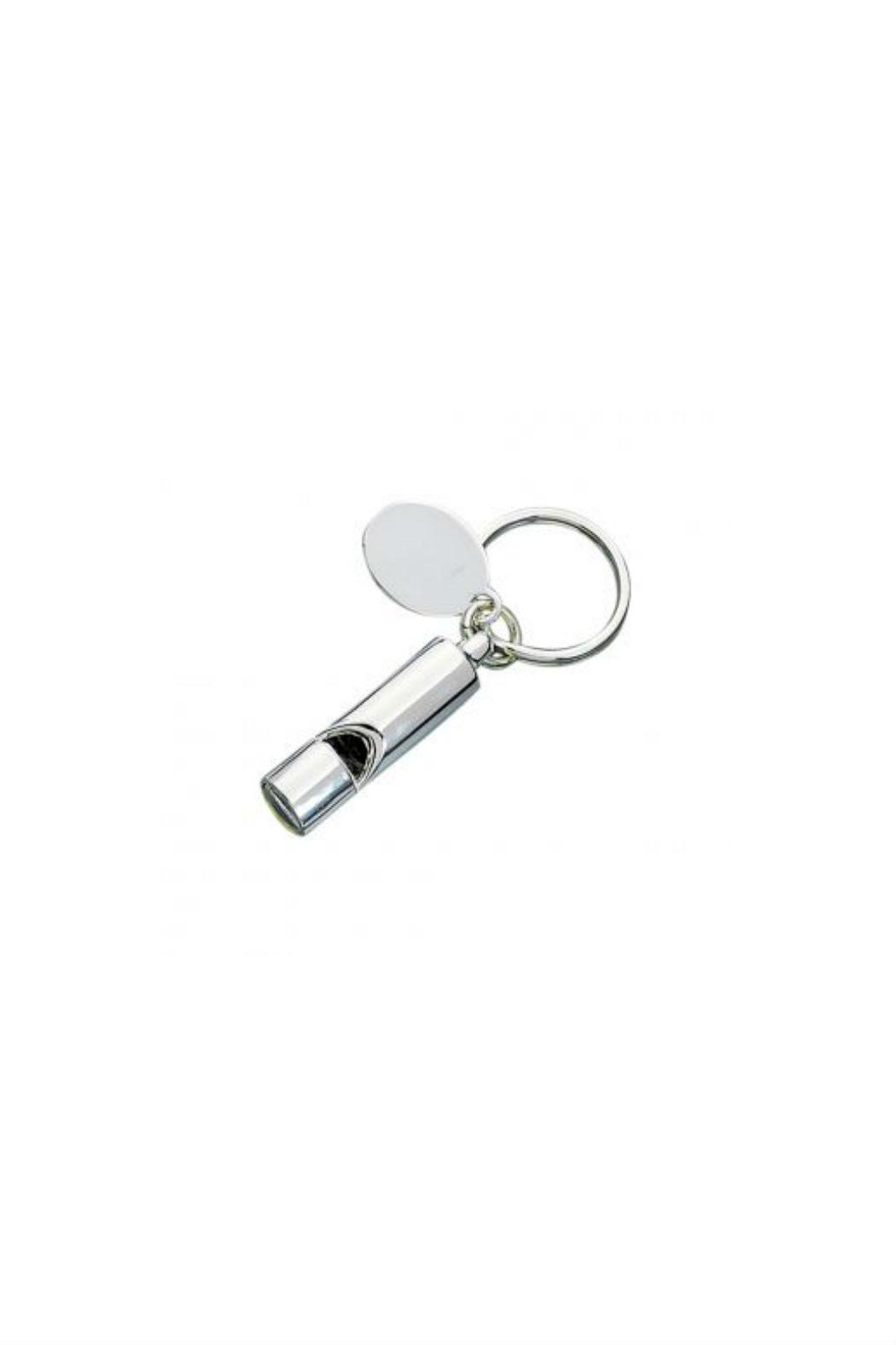 Creative Gifts Silver Whistle Keychain - Main Image