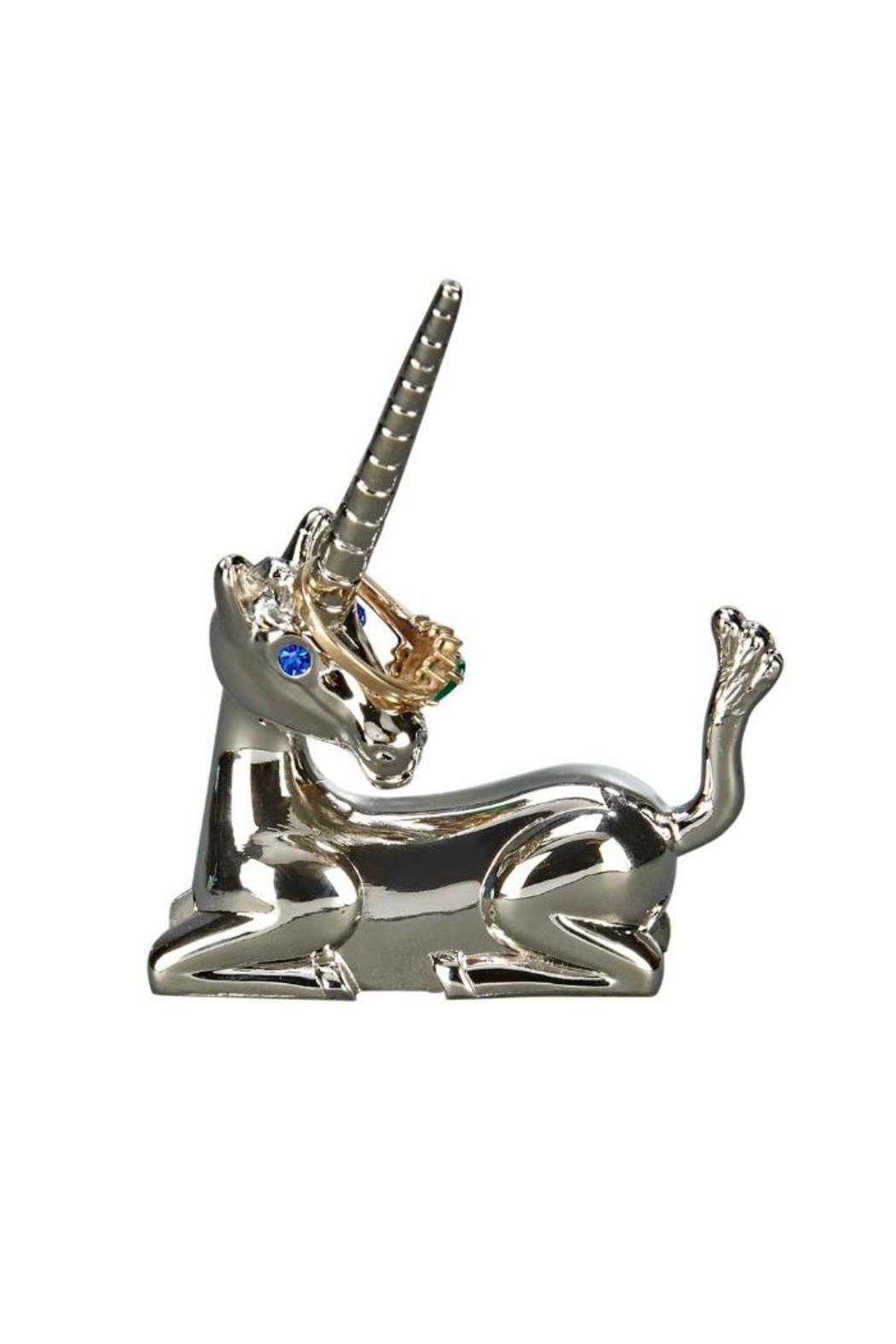 Creative Gifts Unicorn Ring Holder - Front Cropped Image