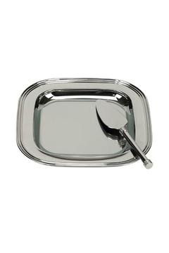 Shoptiques Product: Silver Cheese Tray