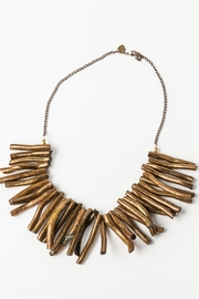 Creative Treasures Handcrafted Bamboo Necklace - Front cropped