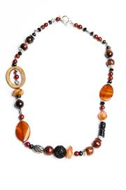 Creative Treasures Orange Agate Necklace - Product Mini Image