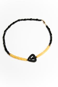 Shoptiques Product: Yellow Jade Necklace