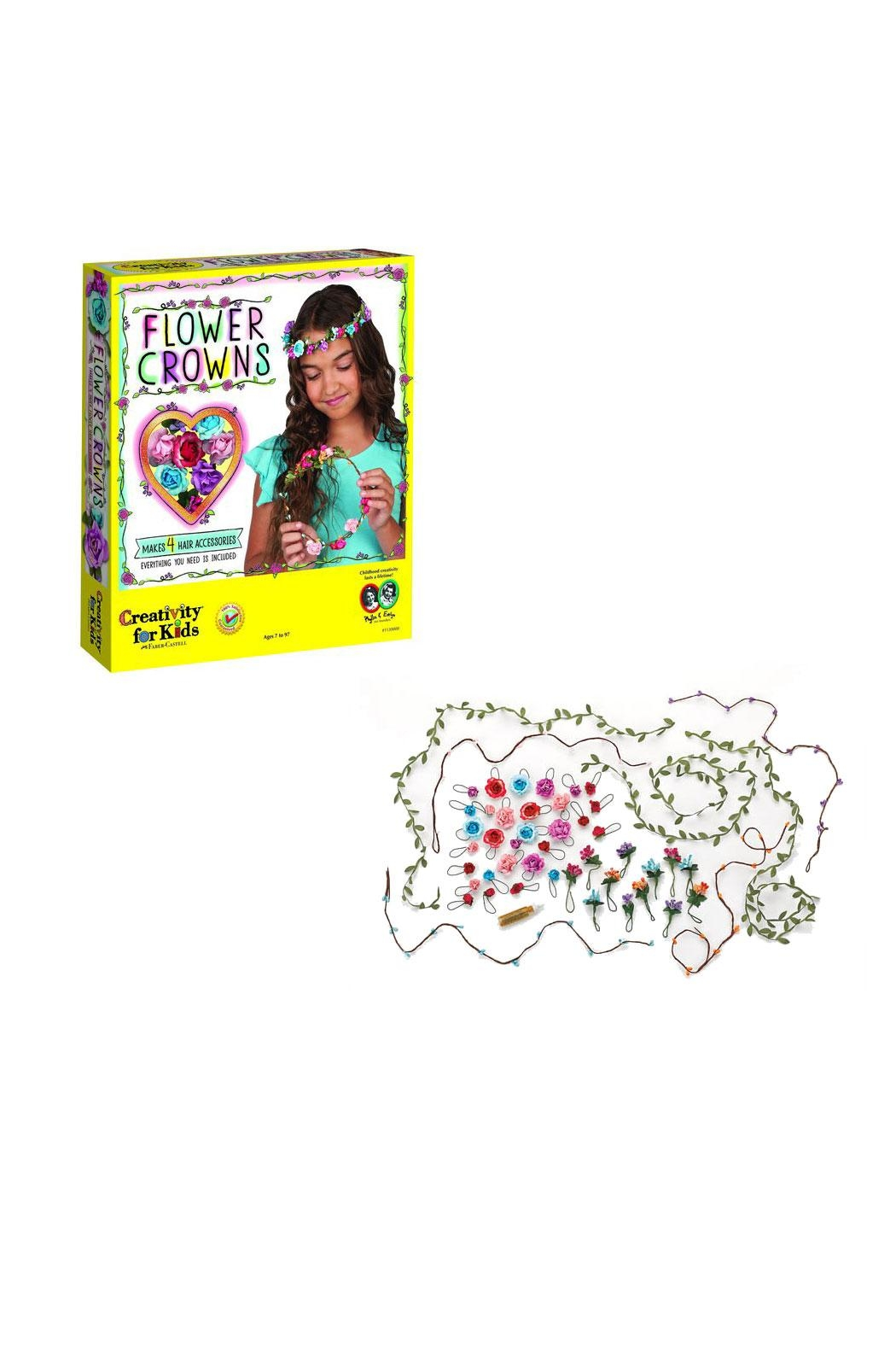 Creativity for Kids Flower Crowns Kit - Main Image