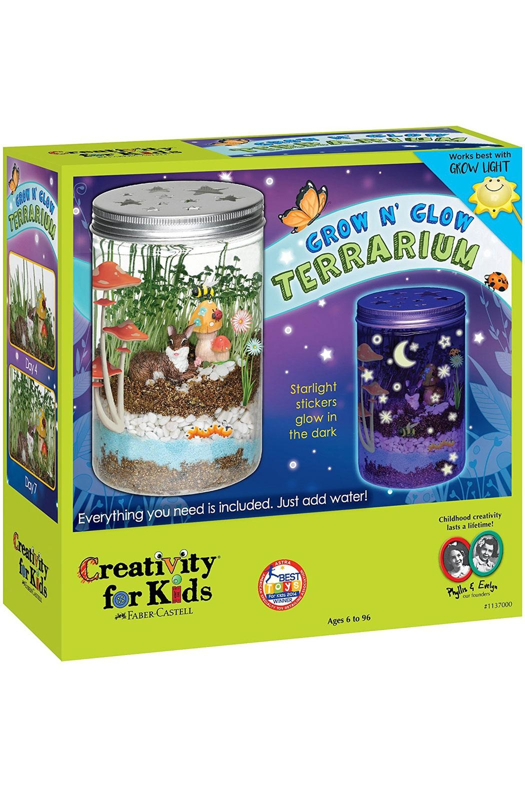 Creativity for Kids Grow N'glow Terrarium - Front Cropped Image