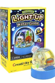 Creativity for Kids Lightup Water Globe - Front cropped