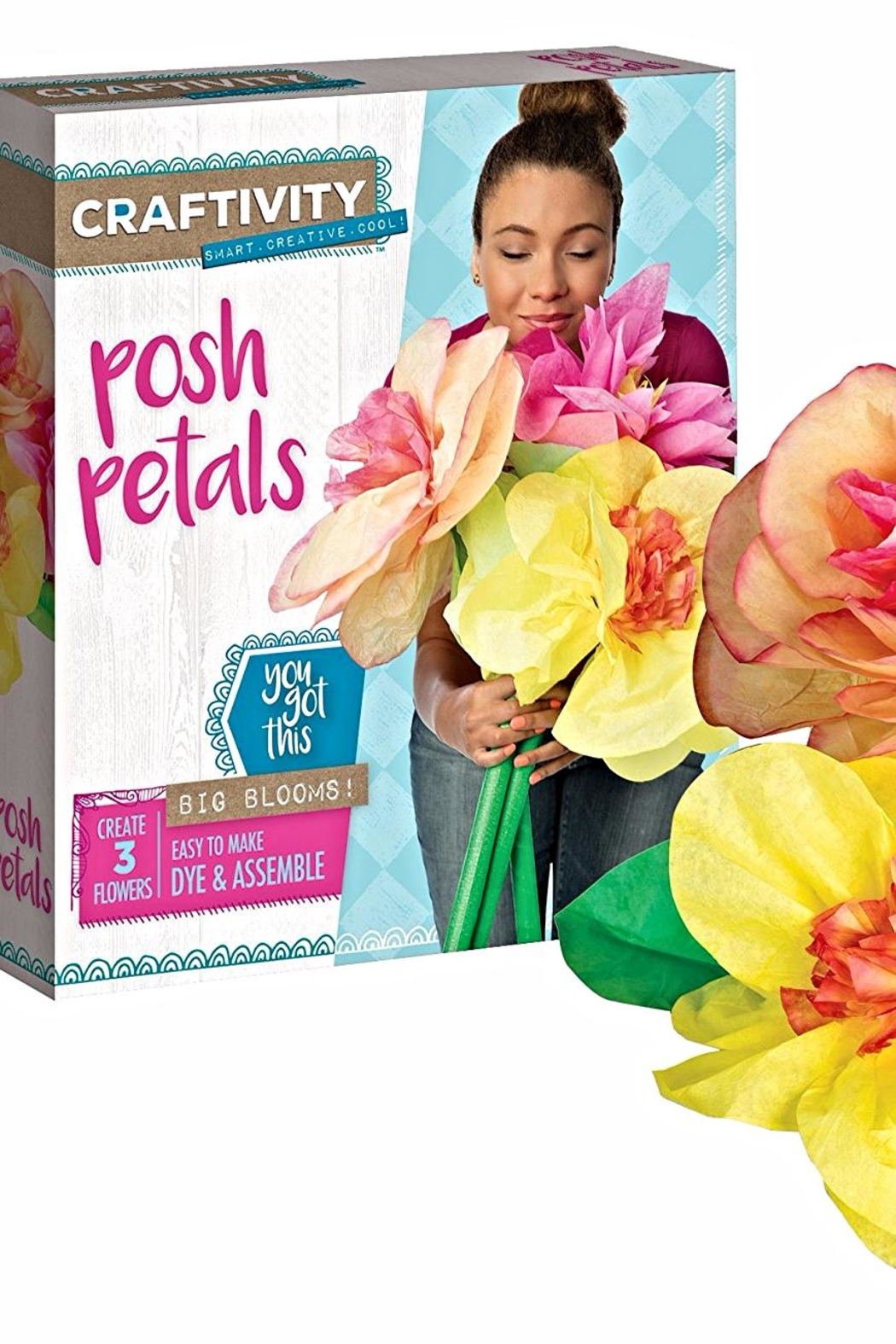 Creativity for Kids Posh Petals Kit - Front Cropped Image