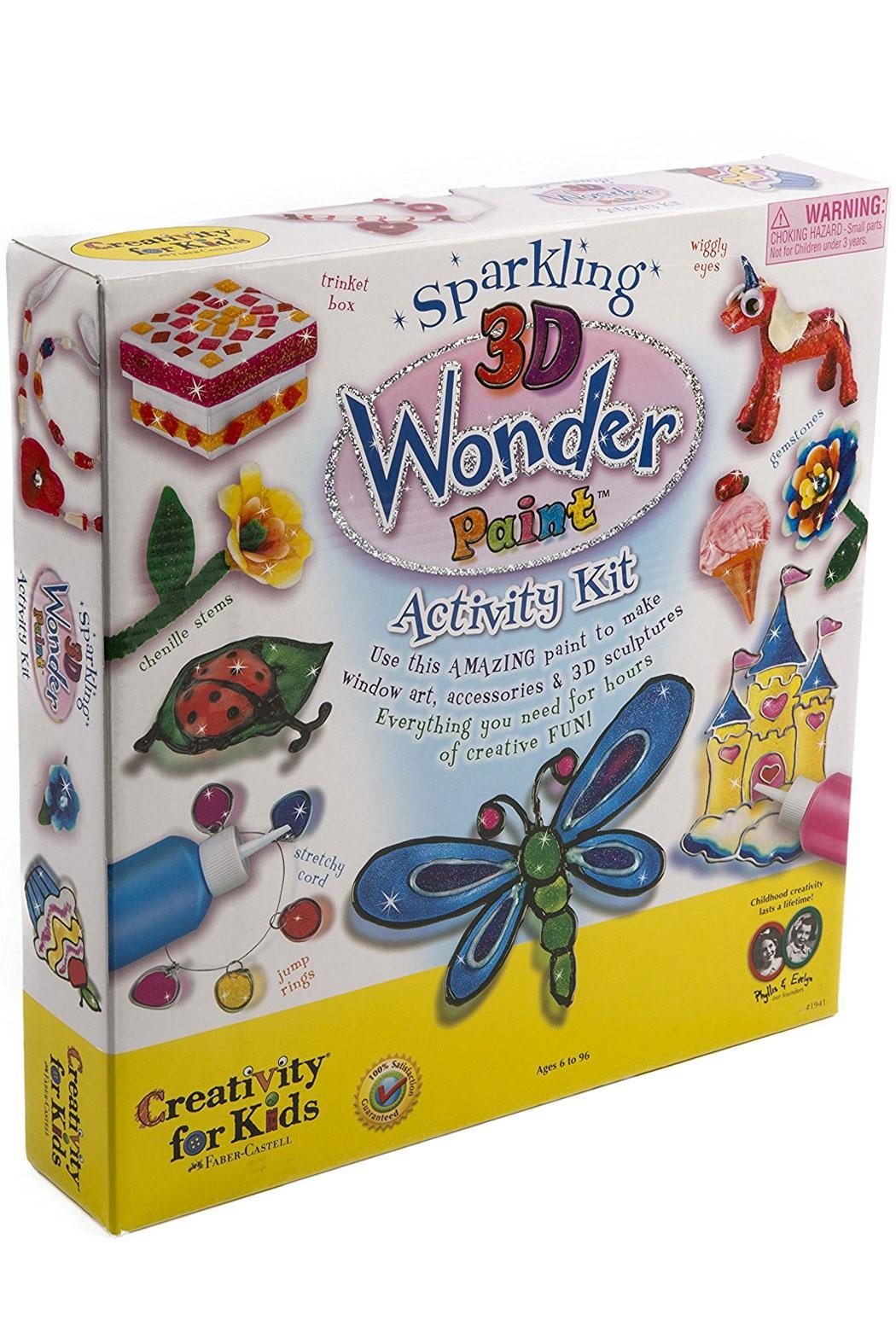 Creativity for Kids Sparkling 3D Paint - Main Image