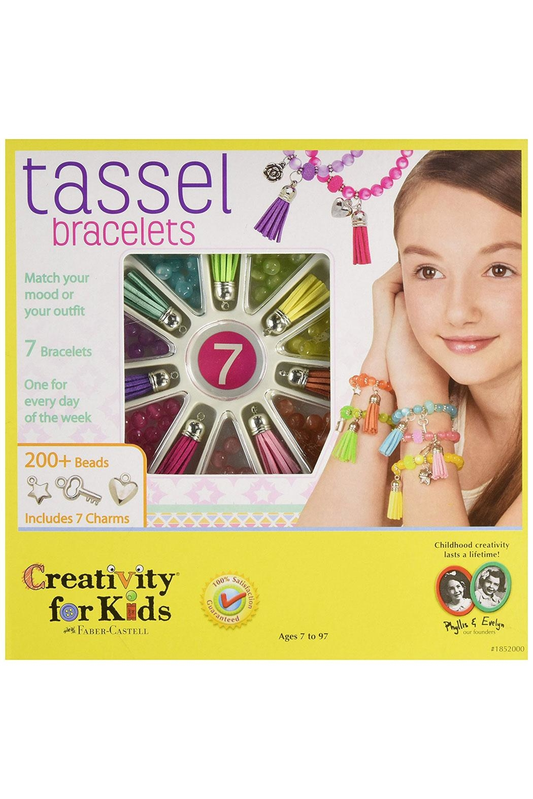 Creativity for Kids Tassel Bracelets Kit - Main Image