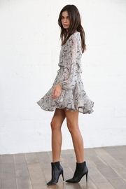 By Together  Crepe Chiffon Dress - Front full body