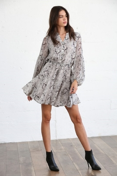 By Together  Crepe Chiffon Dress - Product List Image