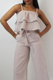 MODChic Couture Crepe Crop Top - Product Mini Image