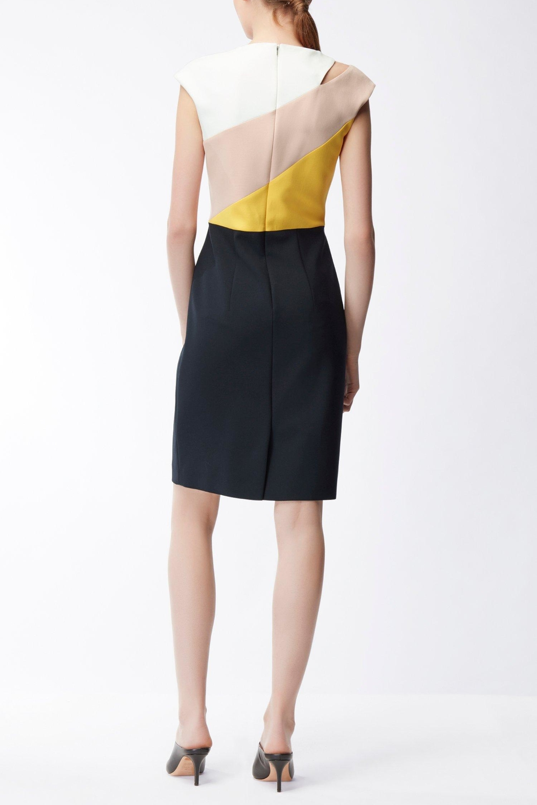 HUGO BOSS Crepe Dress - Front Full Image
