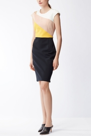 HUGO BOSS Crepe Dress - Front cropped