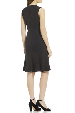 Donna Morgan Crepe Dress With Pearl Detail - Alternate List Image