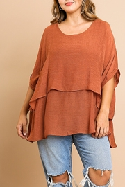 Umgee  Textured Layer Tunic - Product Mini Image