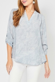 Entro Crepe Print Blouse - Product Mini Image