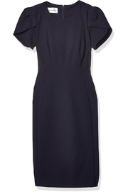 Donna Morgan Crepe Tulip Sleeve Dress - Product Mini Image