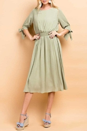 143 Story Crepon Dress - Front cropped