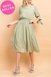 143 Story Crepon Dress - Front full body